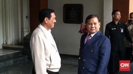 Prabowo Temui Luhut Minta Saran: Beliau Senior Saya