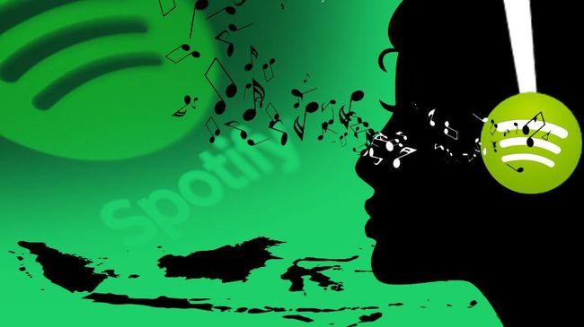 seru putar musik di spotify bisa via waze