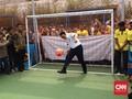 Cerita Ahok Main Bola sampai Diminta Duit Warga di Cipinang
