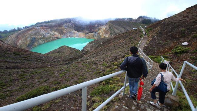 Tahun Ini Kelimutu Mendaftar Sebagai Geopark Nasional