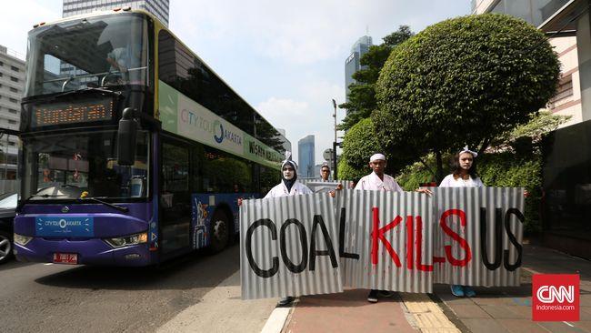 Walhi: 10 PLTU Batu Bara Sumbang 30 Persen Polusi Jakarta