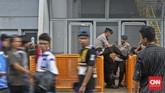 KetuaOC Piala Bhayangkara IrjenPol Condro Kirono mengatakan personel keamanan yang akan dilibatkan mencapai 11.500 untuk Polda Metro Jaya dan gabungan dengan unsur TNI. (CNN Indonesia/Adhi Wicaksono)