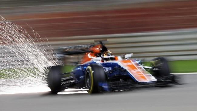 Wehrlein membalap dengan sensasional pada balapan kali ini dan sempat menyalip pebalap Force India dan finis di posisi ke-13. (Dok. Manor Grand Prix Racing Ltd)