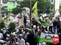 Massa Demo 'Tangkap Ahok' di KPK Sempat Blokir Jalan