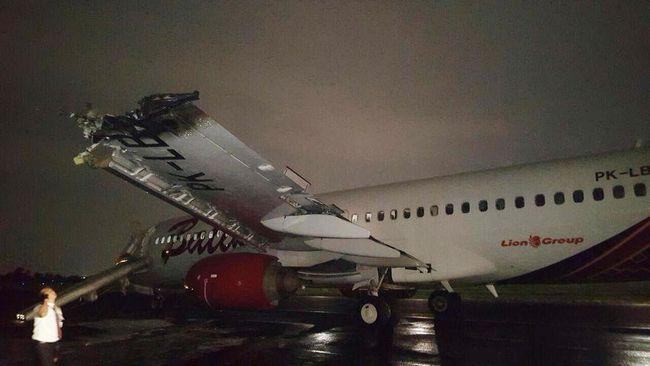 Tabrakan Batik Air, Bandara Halim Ditutup Hingga Jam 10 Malam