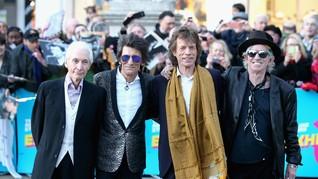 Kado Anak Kembar untuk Ronnie Wood 'Rolling Stones'