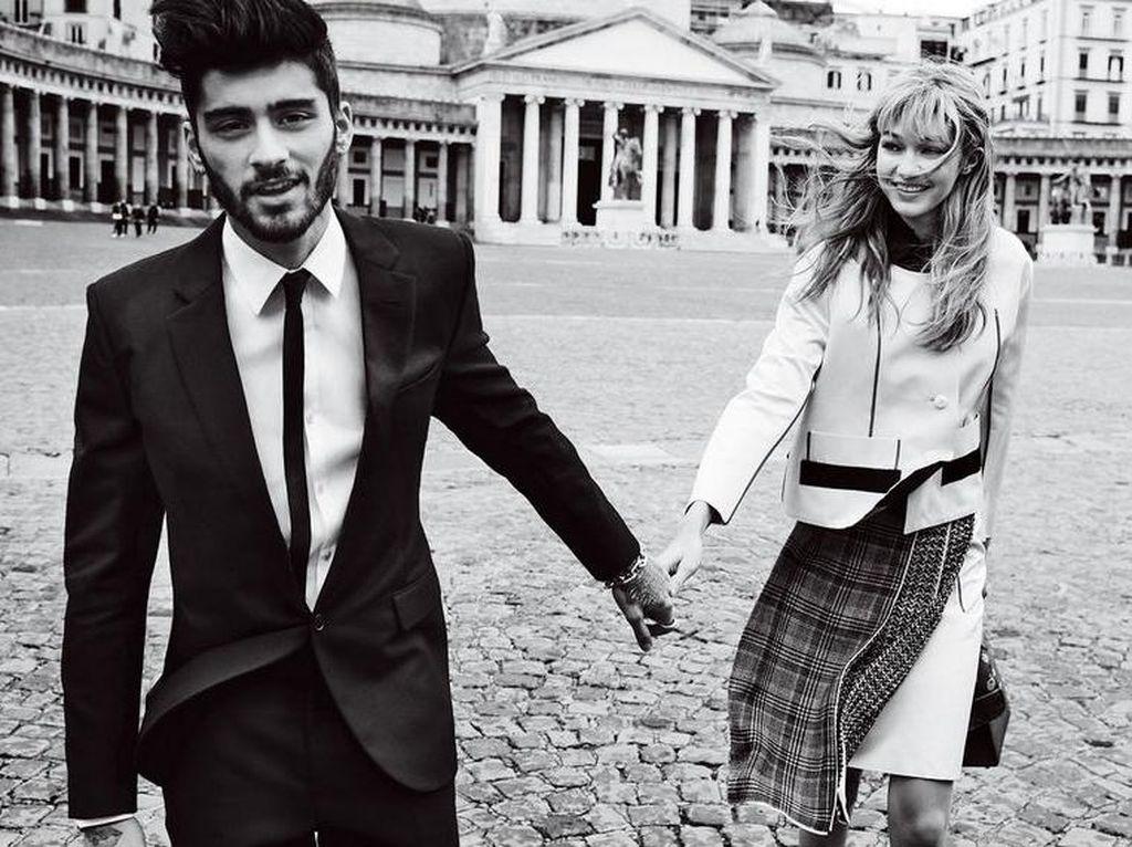Keduanya sempat menjalani hubungan putus-nyambung. Foto: Mario Testino/Vogue