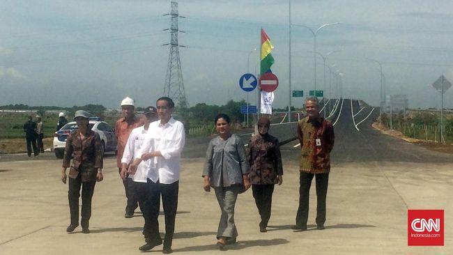 Jokowi Resmikan Tol Solo-Ngawi Ruas Kartasura-Sragen