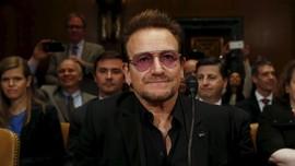 Sempat Hilang Suara, Bono Pastikan Tur U2 Tetap Berlanjut
