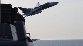 Jet Sukhoi Rusia Jatuh di Suriah, Awak Pesawat Tewas