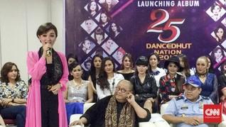 25 Bidadari Rilis 'Dancedhut Nation' di Hadapan Para Marsekal