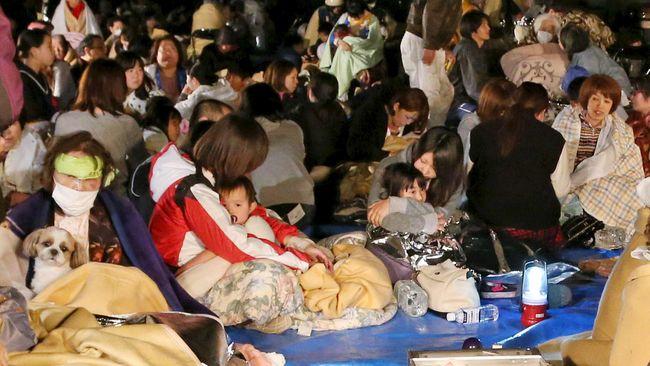Gempa Jepang Picu Risiko Gunung Meletus