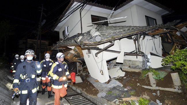 Gempa di Jepang Tewaskan Sembilan Orang, Ratusan Terluka