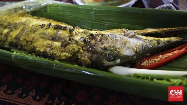 Harga Fantastis Jeroan Ikan Malung di Jambi Rp7 Juta