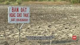 Pasokan Air Mengering, Petani Vietnam Merugi