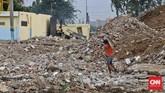 Wali Kota Jakarta Utara Rustam Efendi memastikan Jalan Kepanduan II yang berada di kawasan Kalijodo akan tetap dipertahankan keberadaannya.Foto: CNN Indonesia/Adhi Wicaksono
