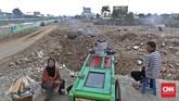 Malam sebelum penggusuran kawasan lokalisasi Kalijodo di Penjaringan, Jakarta Utara, terjadi kebakaran rumah di tengah permukiman warga Kalijodo. Pejabat Sudin Damkar Jakarta Utara menduga ada unsur kesengajaan dalam peristiwa tersebut.Foto: CNN Indonesia/Adhi Wicaksono