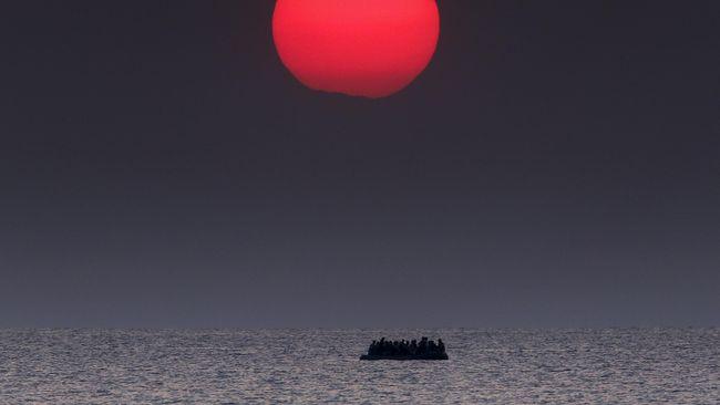 Hampir 50 Migran Tewas Tenggelam di Laut Mediterania