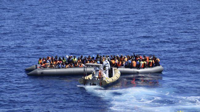 Kapal Imigran Terbalik di Libya, 2 Tewas Termasuk Anak-anak