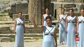 Api Olimpiade 2016 Resmi Disulut di Yunani