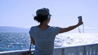 Menikmati Samudera Hindia di Teras Foto Cilacap