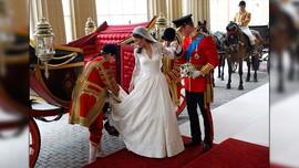Desain Gaun Pengantin Kate Middleton Dituduh Hasil Curian