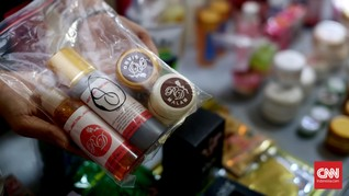 Polisi Ungkap Peredaran Sabu Lewat Botol Maskara