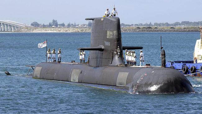 Australia Teken Kontrak Kapal Selam Rp701,2 T dengan Prancis