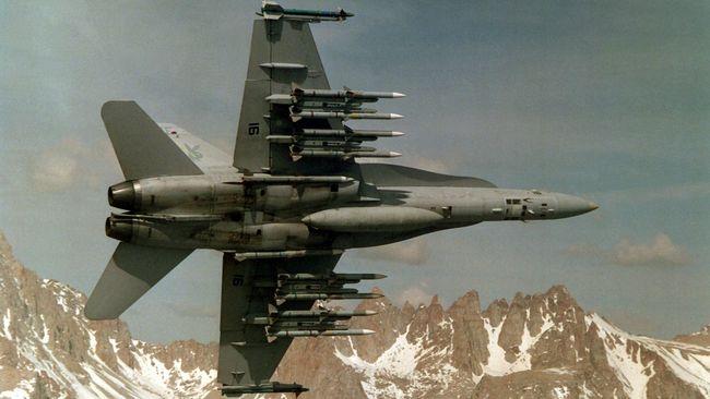 Jet Tempur AS Blokir Evakuasi ISIS yang Diizinkan Suriah