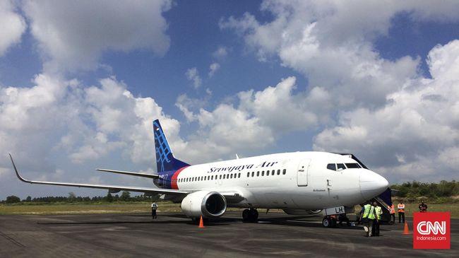 Tanpa Tuslah, Sriwijaya Air Sebut Mustahil Capai Target Omzet