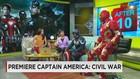 Antusias Penggemar Superhero Marvel Menyambut Film CIvil War