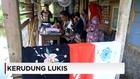 Kerajinan Kerudung Lukis dari Tasikmalaya