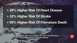 Kesepian Bisa Picu Penyakit Jantung