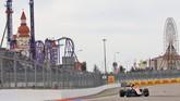 Nasib sial kembali dialami Rio Haryanto pada seri keempat di GP Rusia. Rio mengalami kecelakaan di awal balapan akibat manuver berbahaya pebalap Haas Esteban Gutierrez. (Manor Grand Prix Racing Ltd)