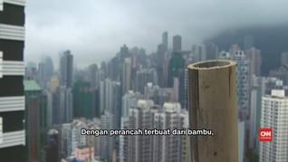 Cara Hong Kong Gunakan Bambu untuk Mencakar Langit