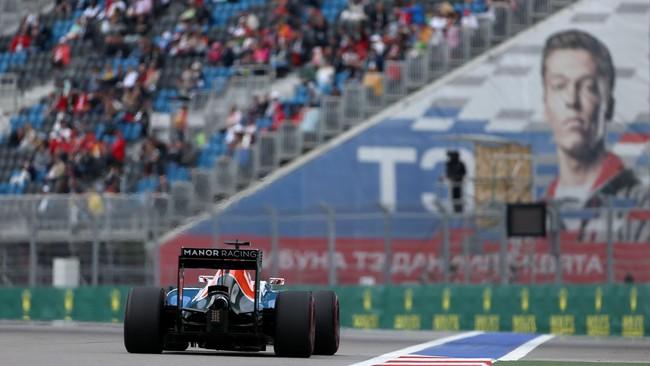 Di sesi kualifikasi, Rio sempat terganggu masalah traffic dan pada akhirnya memulai balapan di posisi ke-21. (Dok. Manor Grand Prix Racing Ltd)