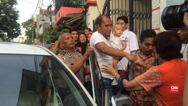 Kepulangan ABK yang Disandera Abu Sayyaf Disambut Keluarga