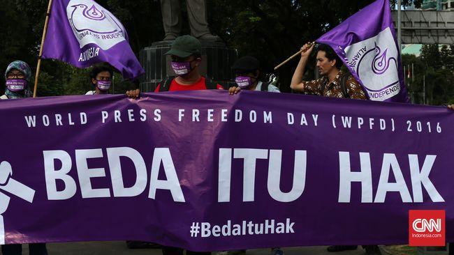 Hari Kebebasan Pers, Jurnalis Masih Rentan Jadi Korban Aparat