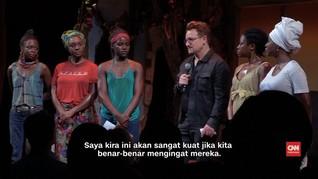 Bono 'U2' dan Nyong'O Kenang Korban Penculikan Boko Haram