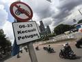 Motor Juga Akan Dilarang Melintas di Rasuna Said, Kuningan
