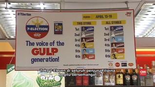 Pemilu Kecil Filipina Melalui Minuman Soda 7-Eleven