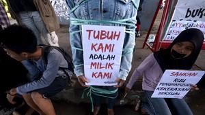 Nasib Perempuan Hanya Sampai di Teras Istana Jokowi