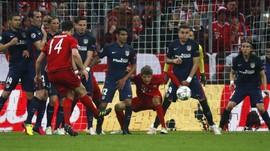 Potret Aksi Atletico Singkirkan Bayern