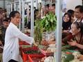 Resmikan Pasar Boyolali, Jokowi Pakaikan Celemek Pedagang