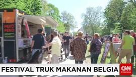 Belgia Menggelar Festival Truk Makanan Terbesar Di Dunia
