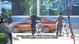 Sepeda Listrik Buatan China Populer di Korut