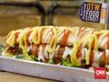 Menjajal Hot Dog Raksasa Daging Cincang Berukuran 40 Cm