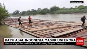 Kayu Indonesia Masuk Eropa