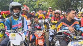 2200 Krosser Ikuti Ajang Balap Motor Trail