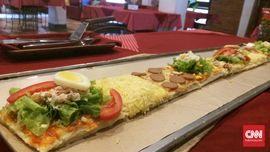 Resep Pizza Roti Tawar untuk Bekal Sekolah Anak